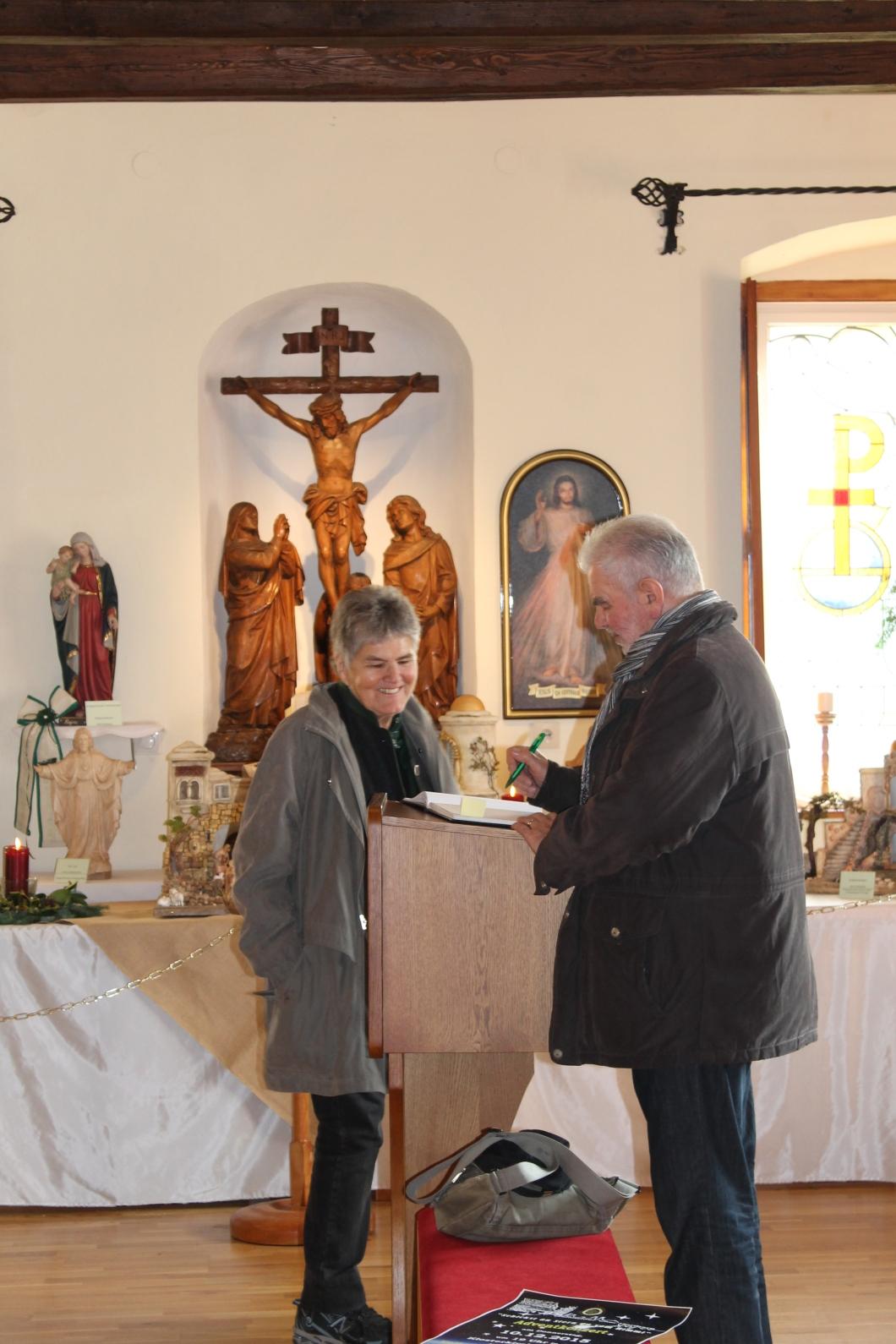 Kripperlschauen im Kapuzinerkloster Hartberg 2o15 (26)